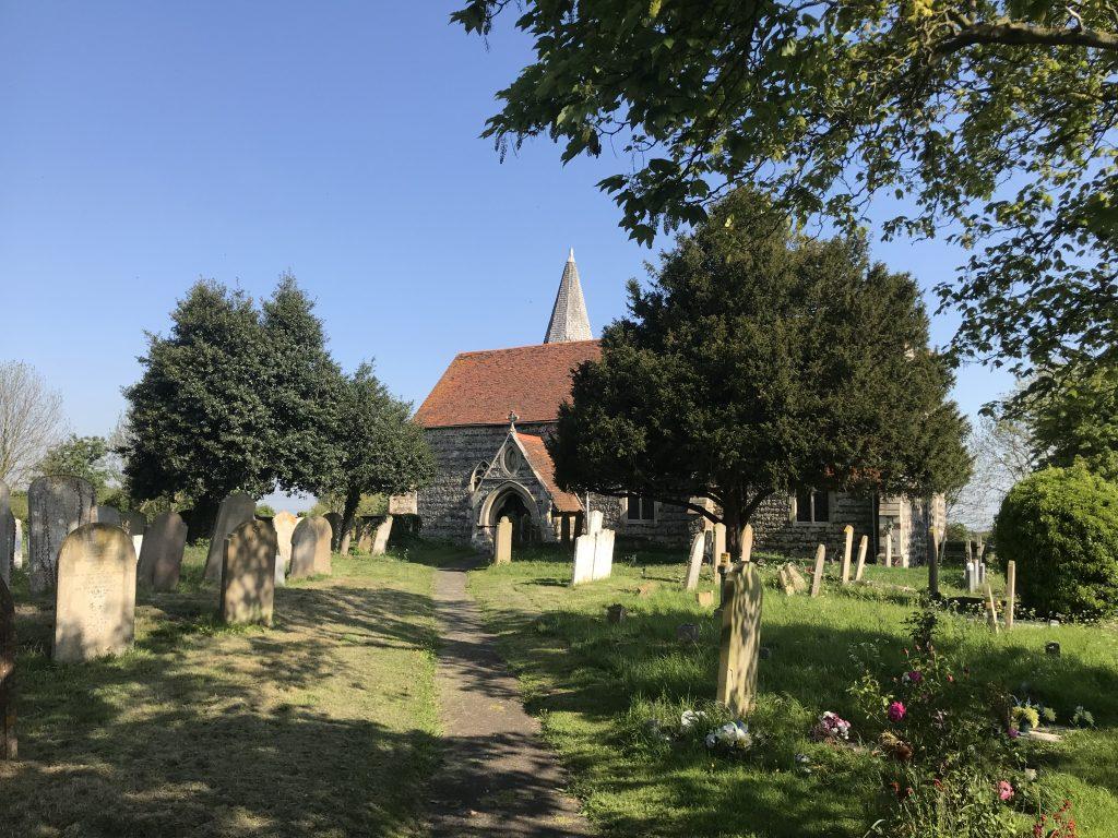 Lower Higham church